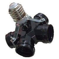 5X E27 Screw Mount Lamp Holder High Power 5 Heads E27 Lamp Base Cap For Droplight
