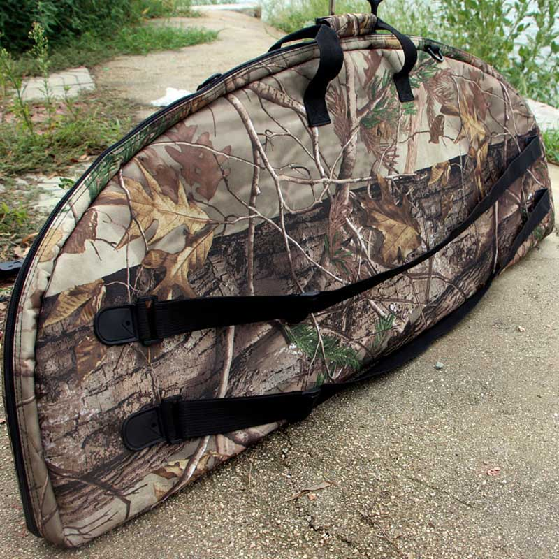 New Compound Bow Bag High-grade Soft Bow Package Camouflage Printing For Archery Hunting Shooting 115x9x45cm Free shipping
