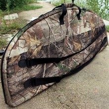 New Compound Bow Bag High-grade Soft Bow Package Camouflage Printing For Archery Hunting Shooting 100x9x45cm Free shipping
