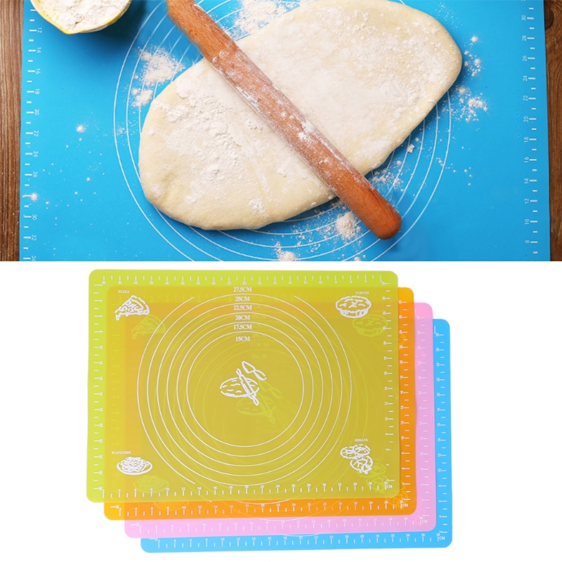 Honest Extra Large Silicone Non-stick Baking Mat For Pastry Rolling With Measurements-m15 To Prevent And Cure Diseases