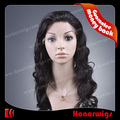 HR19 Natural black discount price  20 inches cheap hair LACE FRONT wigs in stock
