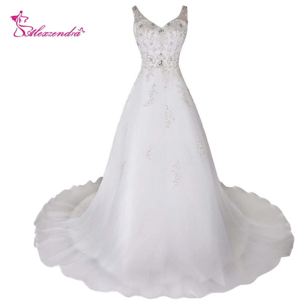 Wedding Ball Gowns With Straps: Alexzendra Vestido De Noiva Ball Gown Sweetheart Wedding