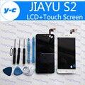 Jiayu s2 Display LCD + Touch Screen Original Novo Painel de Digitador de Vidro + Ferramentas Substituição para JIAYU s2 Telefone Frete grátis-Em Estoque