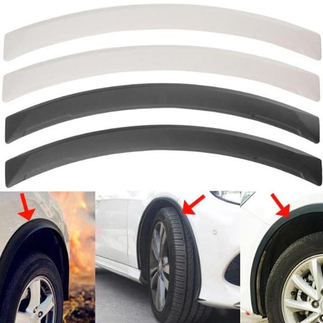 VODOOL 2 Pcs Universele Arch Auto Wiel Wenkbrauw Wielkasten Auto Spatbord Protector Strips Auto Accessoires Auto Vervangende Onderdelen