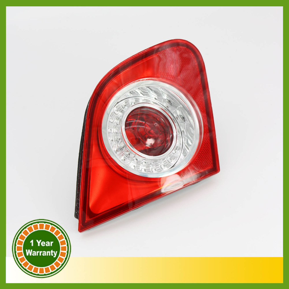 For VW Passat Sedan B6 2006 2007 2008 2009 2010 2011 Rear Tail Light Lamp Left Side Inner Left-hand Trafic Only free shipping for skoda octavia sedan a5 2005 2006 2007 2008 right side rear lamp tail light