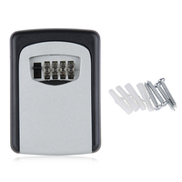 JFBL Hot Wall Mounted 4 Digit Combination Key Storage Security Safe Lock Outdoor Indoor