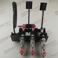 Race Rally Hydraulic Clutch Brake Bias Pedal Box Assembly