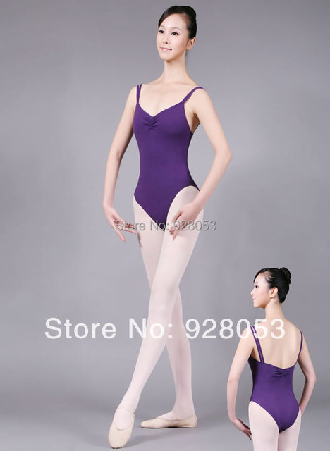 7abb9f7ea 5 pieces Lot Adult Ballet Leotards Double Camisole Leotard Girls ...