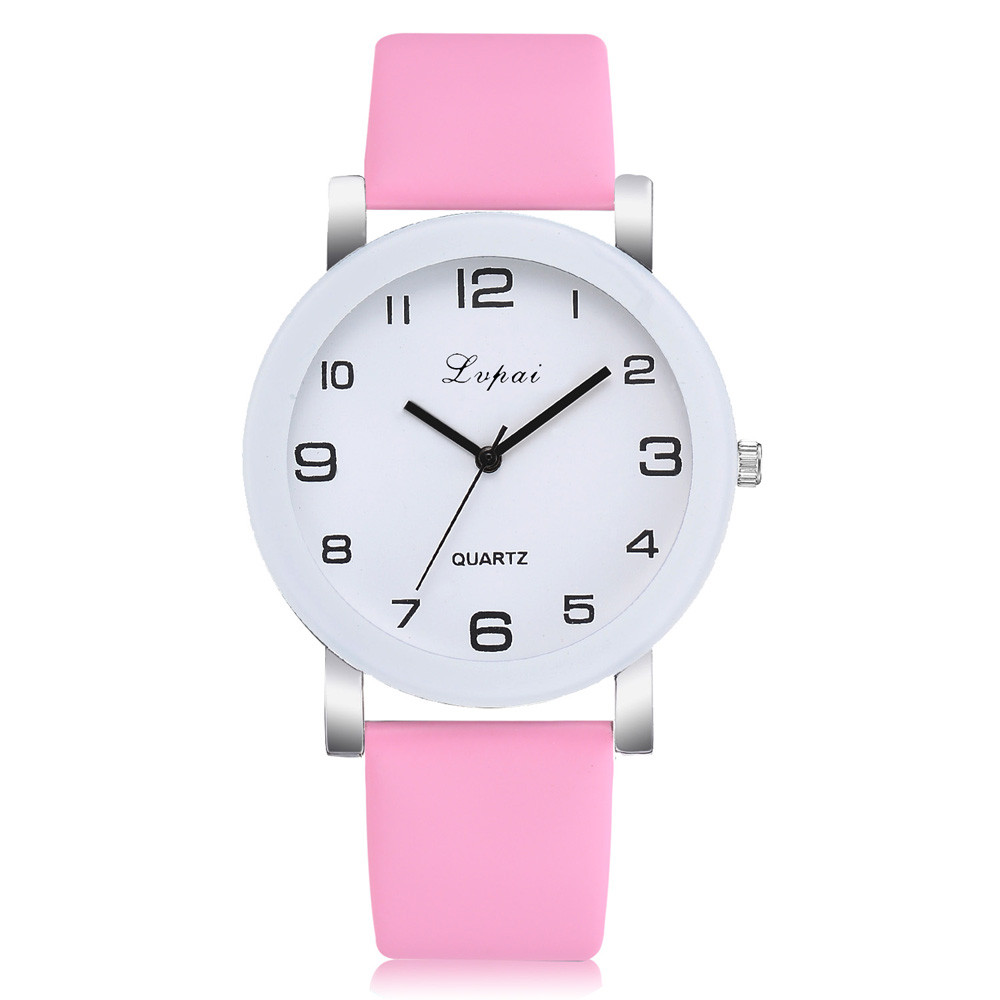 Simple Style Watches Men Women Leather Strap Quartz-watch Fashion Black White Wristwatches Quartz Watch Gifts zegarek damski 5N fashion watch women watches stainless steel unique simple watches casual quartz wristwatches clock hot sale zegarek damski 4fn