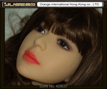 Top quality doll head for girl sex doll,nice oral sex doll head for real sex doll full silicone,HD-004