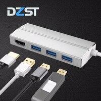 DZLST USB Type C Hub To HDMI USB 3 0 Ports All In One USB C