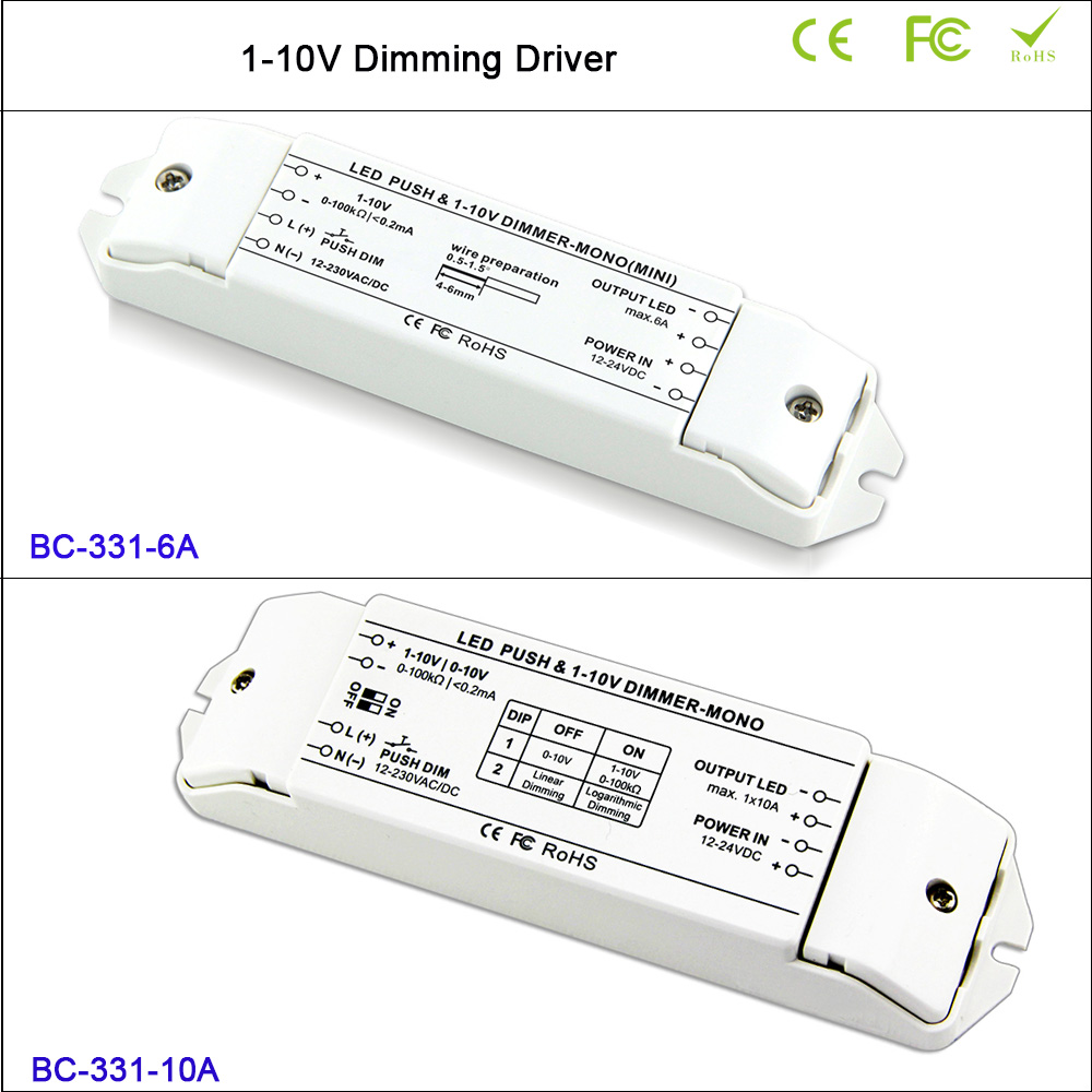 6a1ch Or 10a1ch Led Dimmer Fluorescent Lamps 0 1 10v Pwm Dc 12v 8a Rf Remote Is A Controller That Can Lamp Dimming Driver Push Dimmerdc12v Dc24v Blog Store