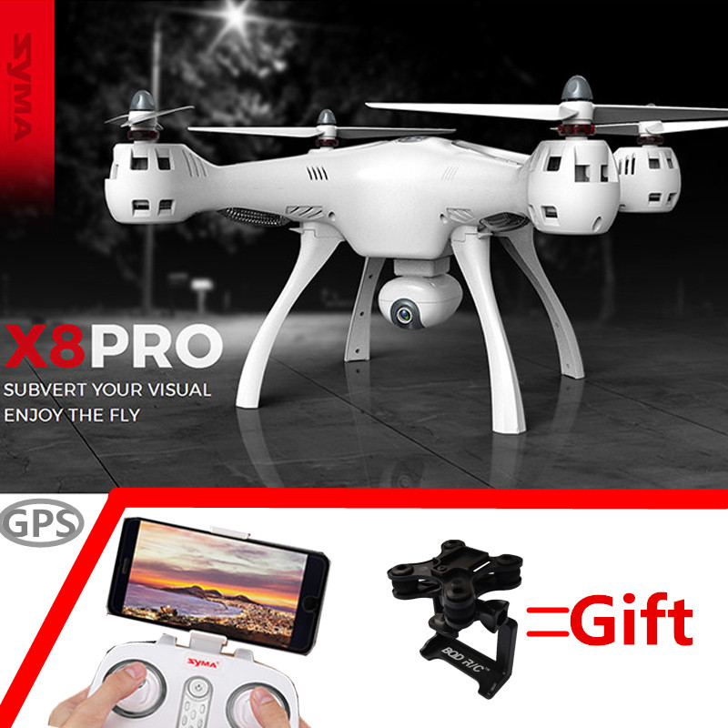 d6f41f832784 SYMA X8 PRO GPS RC Drone Quadcopter 2.0mp Wifi 720p Camera FPV 6-Axis Ggro  Auto Return Position Holding Flying for sale in Pakistan