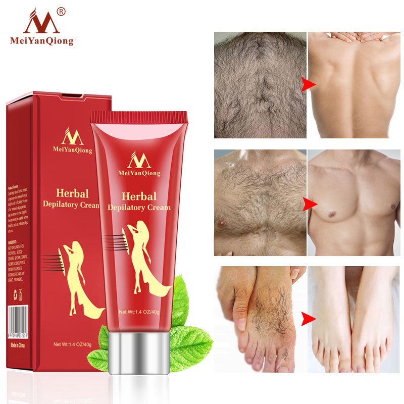 Herbal Depilatory Cream Body Painless Effective Hair Removal Cream for Men Women Removal Armpit Legs Hair Whitening Care Product image