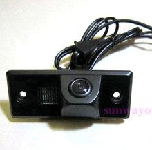 Бесплатная доставка беспроводной SONY CCD авто зеркало заднего вида изображения камеры для VW TIGUAN TOUAREG поло сантана PORSCHE CAYENNE SKODA FABIA