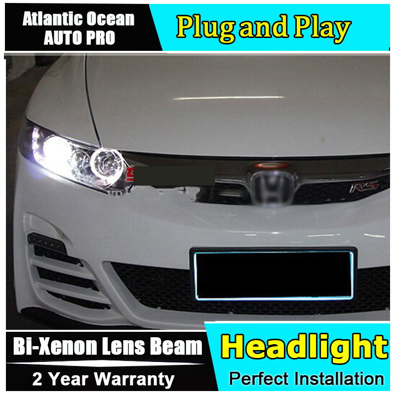 auto pro for honda civic led headlights xenon for honda. Black Bedroom Furniture Sets. Home Design Ideas