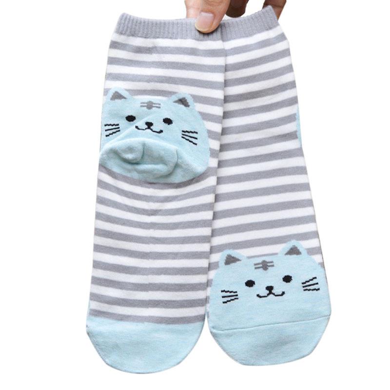 Cute Socks With Cartoon Cat For Cat Lovers Cute Socks With Cartoon Cat For Cat Lovers HTB19nkoQVXXXXbqXpXXq6xXFXXXt