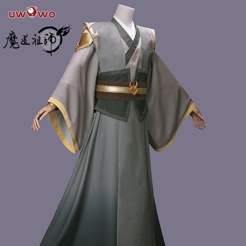 Uwowo Anime Grandmaster of Demonic Cultivation Mo Dao Zu Shi Teenager Ver Nie Ming Jue Cosplay Costume