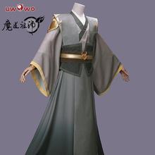Uwowo Anime grand maître de la culture démoniaque Mo Dao Zu Shi adolescent Ver Nie Ming Jue Cosplay Costume