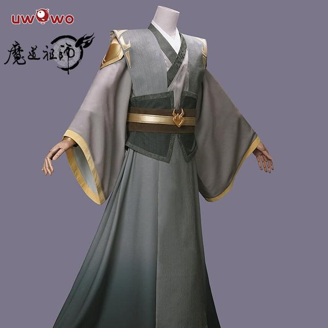Uwowo anime grandmaster do cultivo demoníaco mo dao zu shi adolescente ver nie ming jue cosplay traje