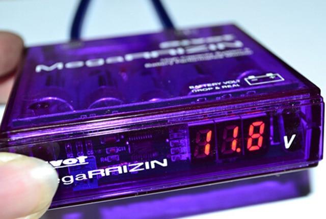 Mega RAIZIN Volt Stabilizer / With 5 Wires Digisplay CY074-CN-2