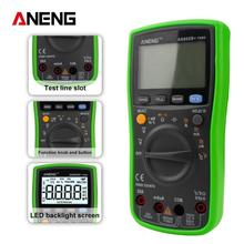 ANENG AN860B+ 6000 counts LCD analog Digital Multimeter DMM Detector tester peak multimetro meter analogico cable cripming tool 2017 new convertitore analogico digitale convert any analog video