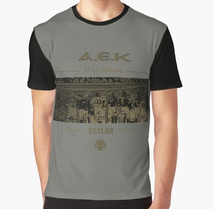 Greece Aek Athens Club Fc Camiseta T Shirt Paok Fc Of Greece T Shirt