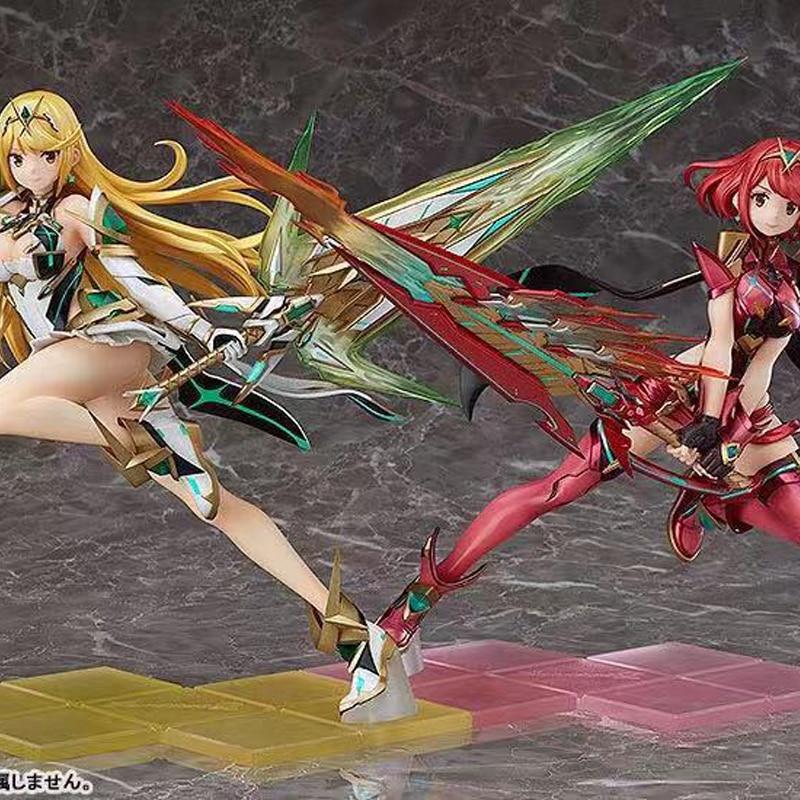 Xenoblade Chronicles 2 Homura & Hikari PVC Sexy Girls Action Figure Toys