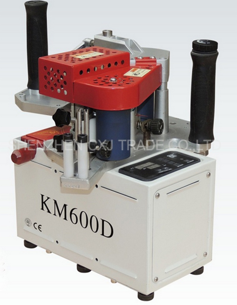 Free shipping  KM600D Manual egde bander machine with speed control model single unit with CE/English maual Freeshiping  цены