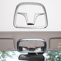 Fit For 2014 2016 Cherokee 2Pcs Set ABS Sosung Interior Car Roof Dome Light Lamp Decoration