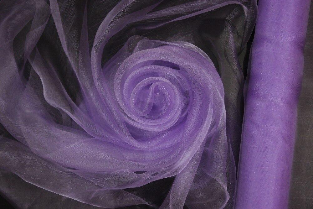 Light Purplelilac Organza Rolls Fabric For Background Wedding