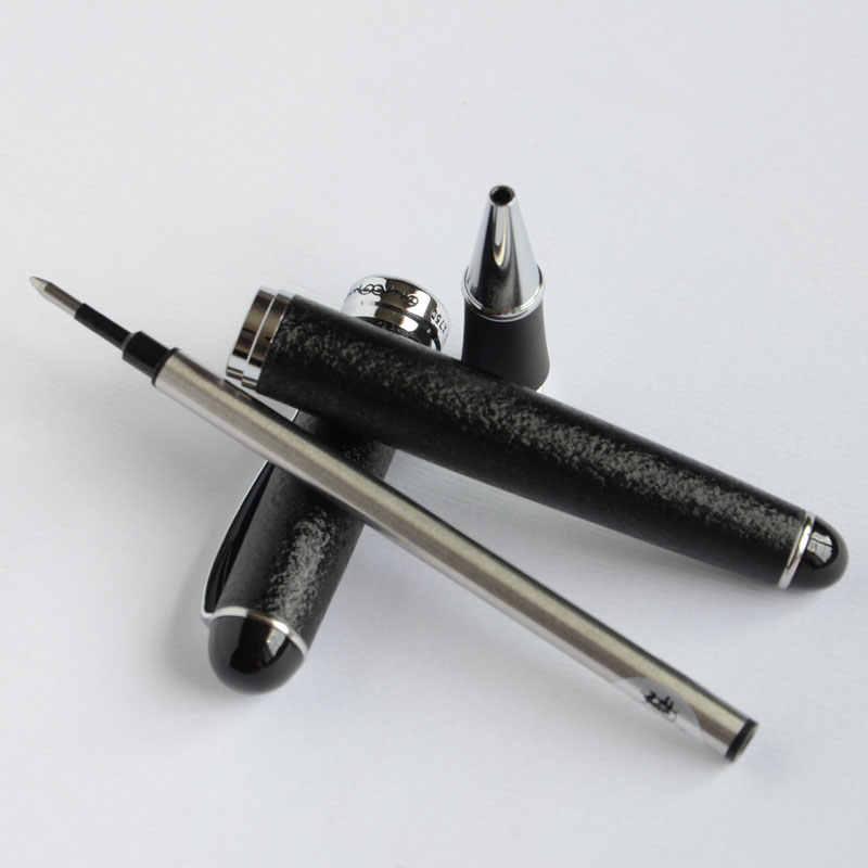 Rolo caneta bola jinhao x750 superfície áspera preto/prata executivo jinhao 750 branco roxo rosa verde preto 15 cores seletivas