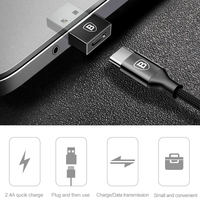 Baseus USB Male to Type C Female Cable OTG Adapter Converter Notebook Type-c Female to USB Male Charger Plug Data OTG Adapter