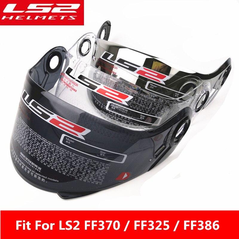 LS2 Ff370 Flip Up Helmet Anti-fog Visor Suitable For LS2 FF370 FF394 FF325 FF386 Helmet Multi-color Optional Lens Glass