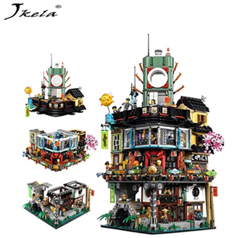 Compatible LegoINGly NinjagoINGly City Building Model Modular Building Stones Teens Toys Bricks  Compatible 06066 70620