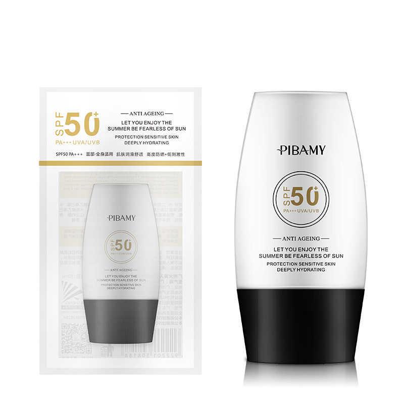 SPF 50 + עמיד למים UV הגנת בידוד קרם גוף הלבנת קרם Sunblock טיפוח עור אנטי-הזדקנות 30 ml קרם הגנה קרם TSLM2