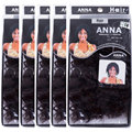 EVET Brazilian Jerry Curly Hair Weave 5 Packs Wholesale Top Grade Unprocessed Virgin Human Kinky Curly Hair Weavings 120g/Pack