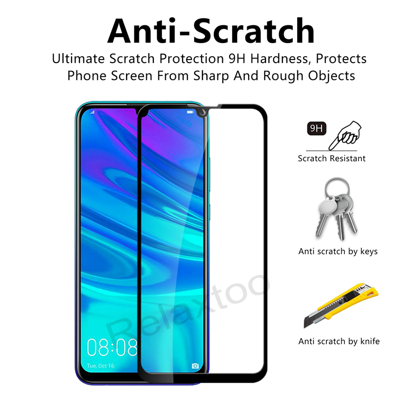 Image 3 - Tempered Glass For Huawei P smart 2019 Glass Screen Protector on For Huawei P smart 2019 Psmart Z P smart Z Protective glas Film-in Phone Screen Protectors from Cellphones & Telecommunications
