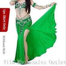 Göbek dans eteği dans kostüm hint dans eteği kıyafetleri oryantal dans eteği 1 adet etek 10 renk 701 #