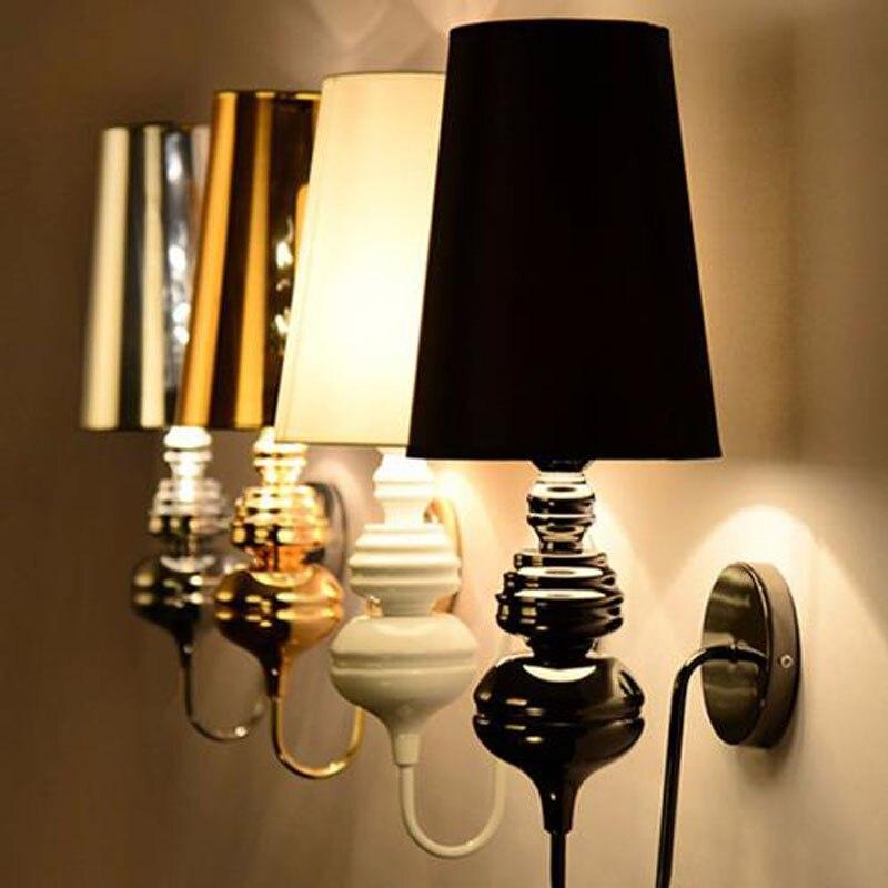 Внутреннего освещения ванной Гибкая для чтения для прикроватной тумбочке стабильный спальня лампы привело бра дома Современная столовая о