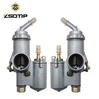 ZSDTRP 1Pair Ural K750 Motorcycle Carburetor PZ28 Carburador For BMW R50 R60/2 R69S R12 K750 R1 R71 M72