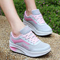 Height Increasing 2017 Women Sport Casual Shoes Women Fashion Walking Swing Wedges Shoes Breathable shoes women zapatillas mujer