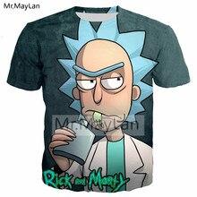 Cartoon Ricky and Morty 3D Print T shirt Rick Drinking Men/women Anime Kawaii T-Shirt Harajuku Streetwear Tshirt Tees Clothes rick and morty t shirt 2019 ricky y morty schwifty t shirts print rock t shirt boys ricky and morty tshirt