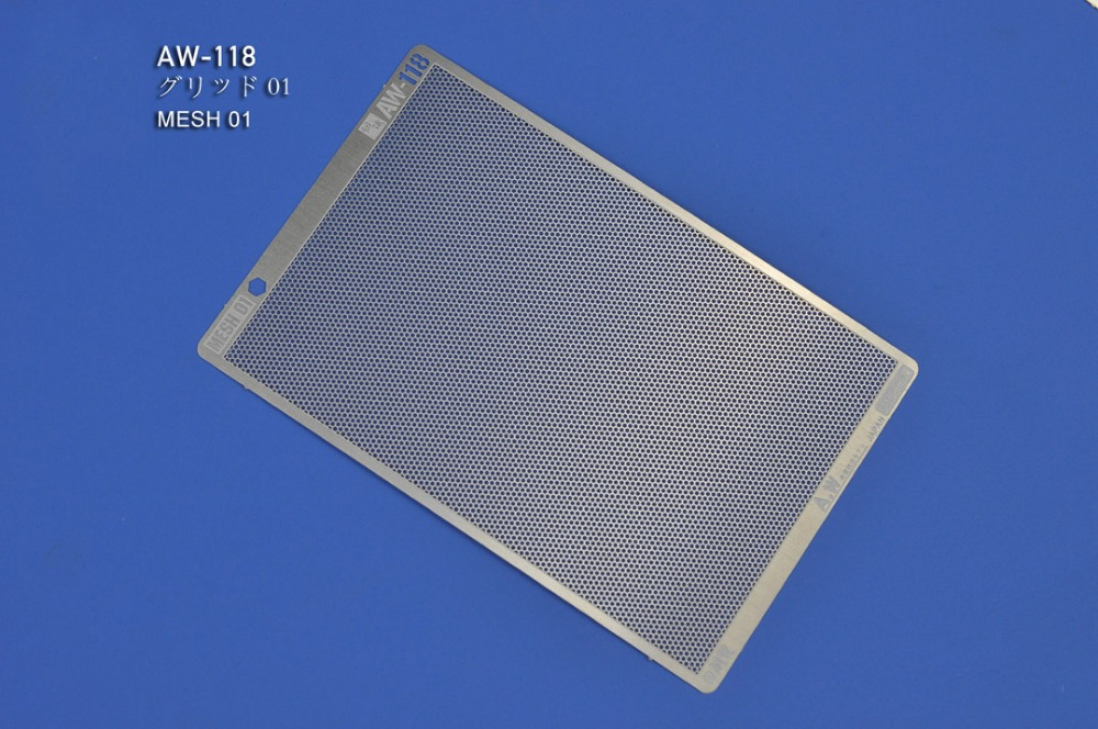 Etching Parts For Gundam MESH 01 02 03 (AW118 AW119 AW120) Photo-etched Sheets Accept Wholesale