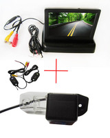 Wireless WIFI Car Rear View Camera for VOLVO S80 SL40 SL80 XC60 XC90 S40 C70,with 4.3 Inch foldable LCD Monitor