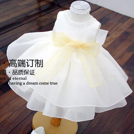 Bbwowlin Baby Girl Flower Girl Dresses For 0 6 Years Birthday Party