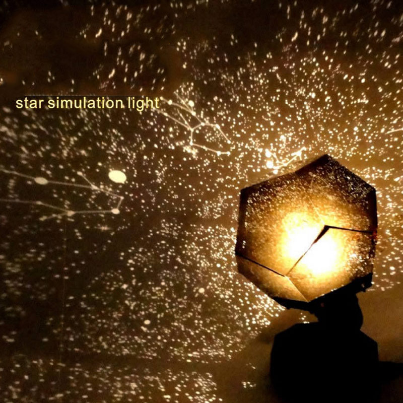 цена на Romantic Star Projector Lamp Starry Sky Projection Night Light For Bedroom Living Room Kids Children Baby Gifts CLH@8