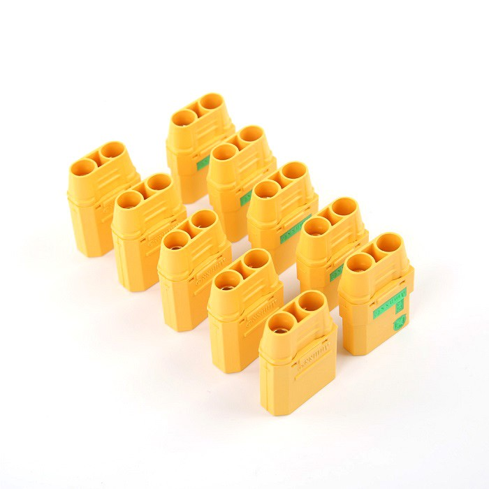 5 paire-Amasser XT90S XT90-S Anti Spark Connecteur Mâle et Femelle Plug logement pour RC Lipo Batterie pour DIY racing Drone