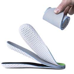 ЕВА дышащие туфли-лодочки стельки Memory Foam Спорт арка для забега Поддержка обувь вставка для Для женщин Для мужчин впитывает пот подошвы ног