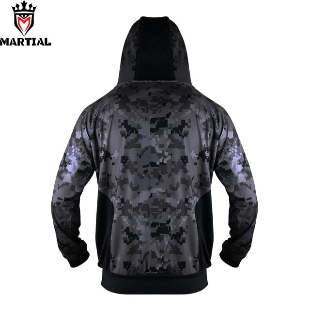 Martial :Fitness YKK zipper long sleeve  hoodies bjj/mma  trainning  sweater jogger fleece  sweatshirts men 3